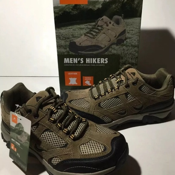 44a27231dc9 Ozark Trail Men's Hikers Leather Waterproof Boots NWT